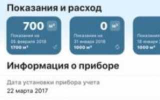 Мойгаз Смородина онлайн — передать показания счетчика