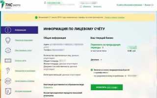Личный кабинет ТНС энерго: показания счетчика, управление платежами — полная инструкция