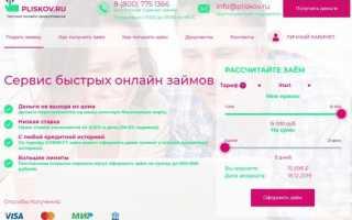 Pliskov.ru это развод?