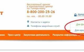АО «Татэнергосбыт» Альметьевск — показания счетчиков за свет
