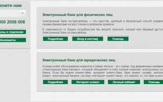 Личный кабинет Банка Интеза (электронный банк): инструкция по регистрации и смене пароля