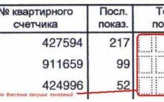 Передать показания счетчика воды в Санкт-Петербурге