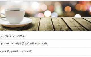 Отзыв о internetopros.ru – регистрация и личный кабинет интернет опроса