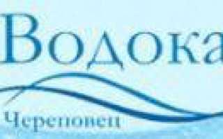 Передать показания счетчиков воды Череповец