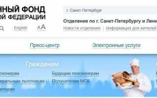 ПФР Республика Татарстан Личный Кабинет — Официальный сайт