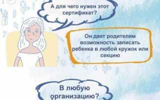 Сертификаты на дополнительное образование (ПФДО) в Ярославле