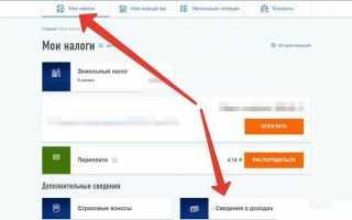 Как заказать справку 2-НДФЛ онлайн через интернет: Госуслуги и ЛК налоговой