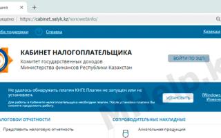 КНП Плагин (Кабинет Налогоплательщика)