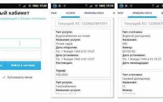 Передать показания счетчиков — личный кабинет РИЦ Ульяновск (lk.ric-ul.ru)