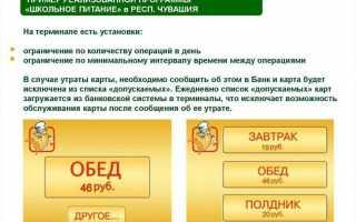 Приложение Школьное питание от Авангард банка — регистрация личного кабинета