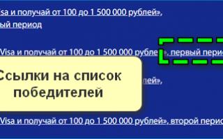 Регистрация чека Виза Пей: условия акции, полная инструкция