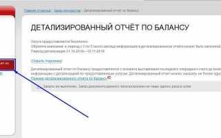 Как заказать распечатку звонков (детализированный счет) – Онлайн-поддержка