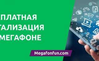Описание функции «Детализация звонков и распечатка» от Мегафона