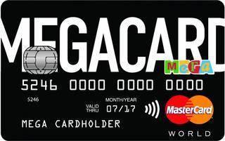 Бонусная карта Мега